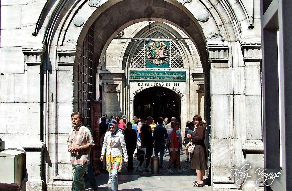 Рынок Гранд-Базар (Капалы Чарши) в Стамбуле