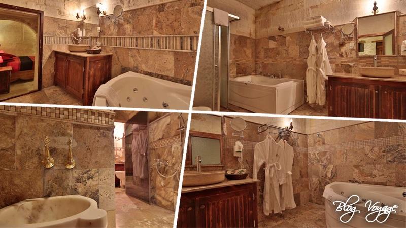 Ванная комната Maccan Cave Hotel