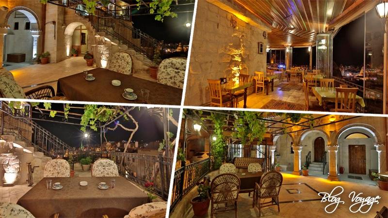 Отель в Каппадокии Maccan Cave Hotel, территория