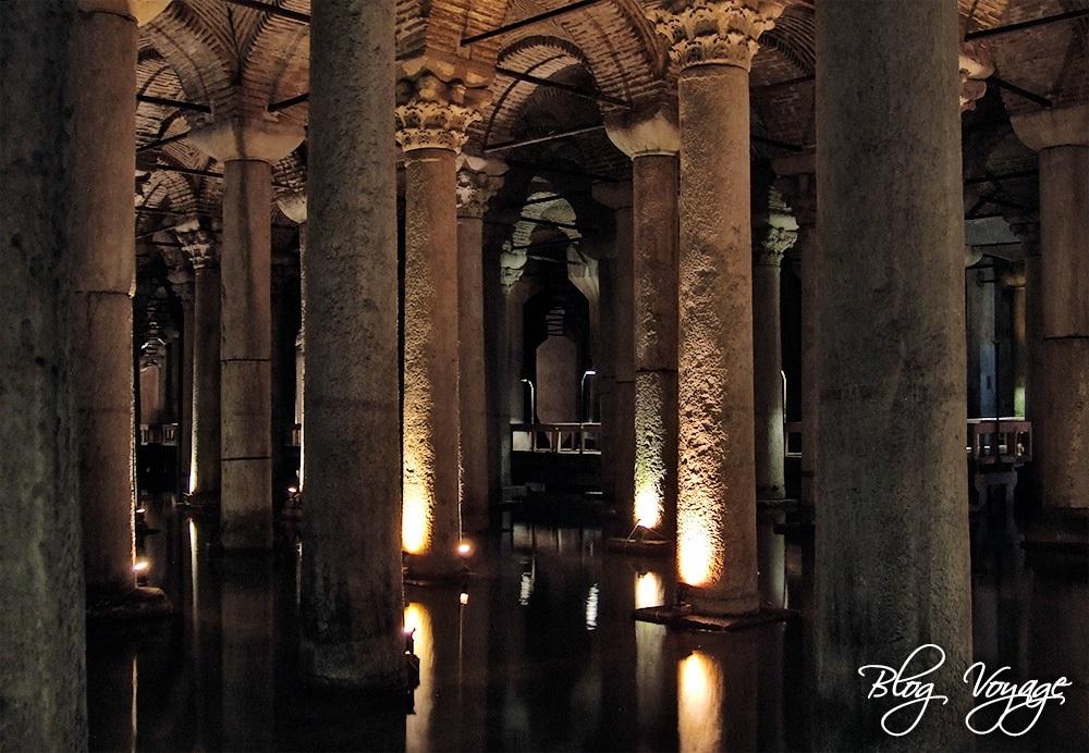 Достопримечательности Стамбула - Цистерна Базилика (Еребатан Сарнычы)