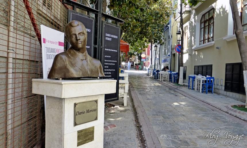 Памятник Дарио Морено возле Асансёра