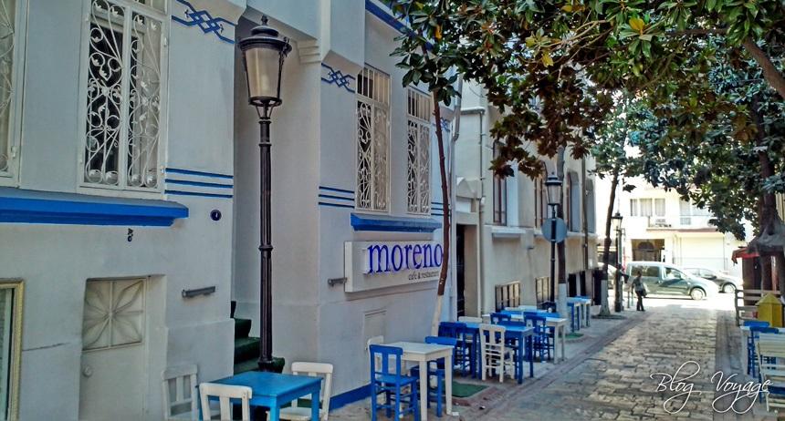 Улица Дарио Морено кафе