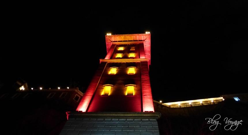 Достопримечательность Измира - Асансёр ночью