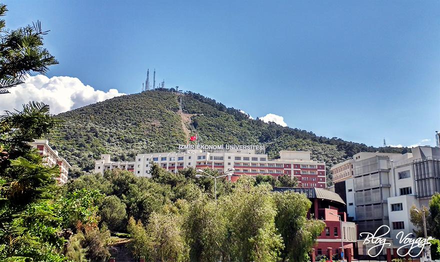 Вид на холм Телеферик Измир
