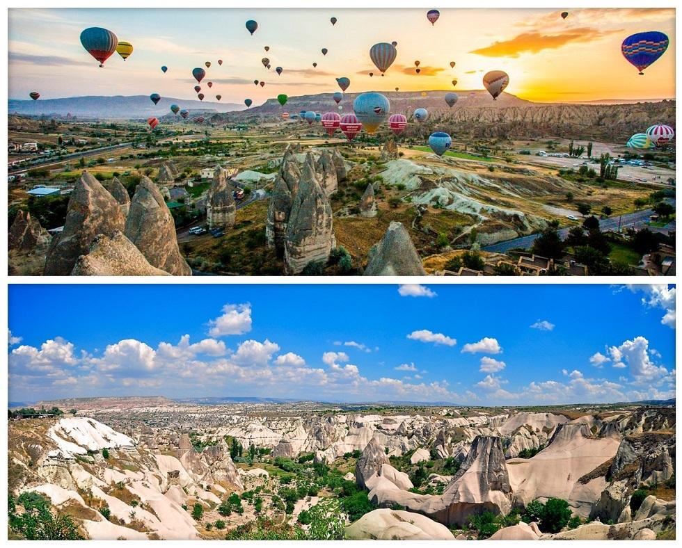 Живописная Каппадокия в Турции