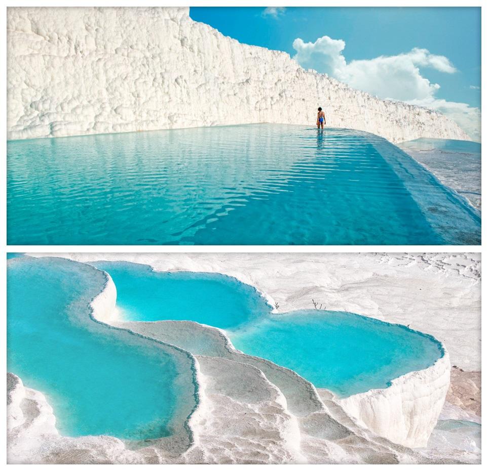 Удивительные места в Турции - Памуккале