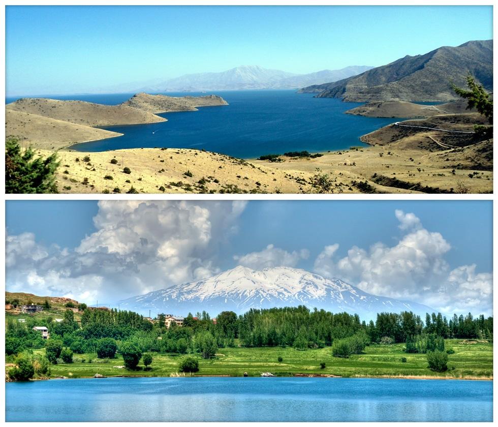 Красивое озеро Ван