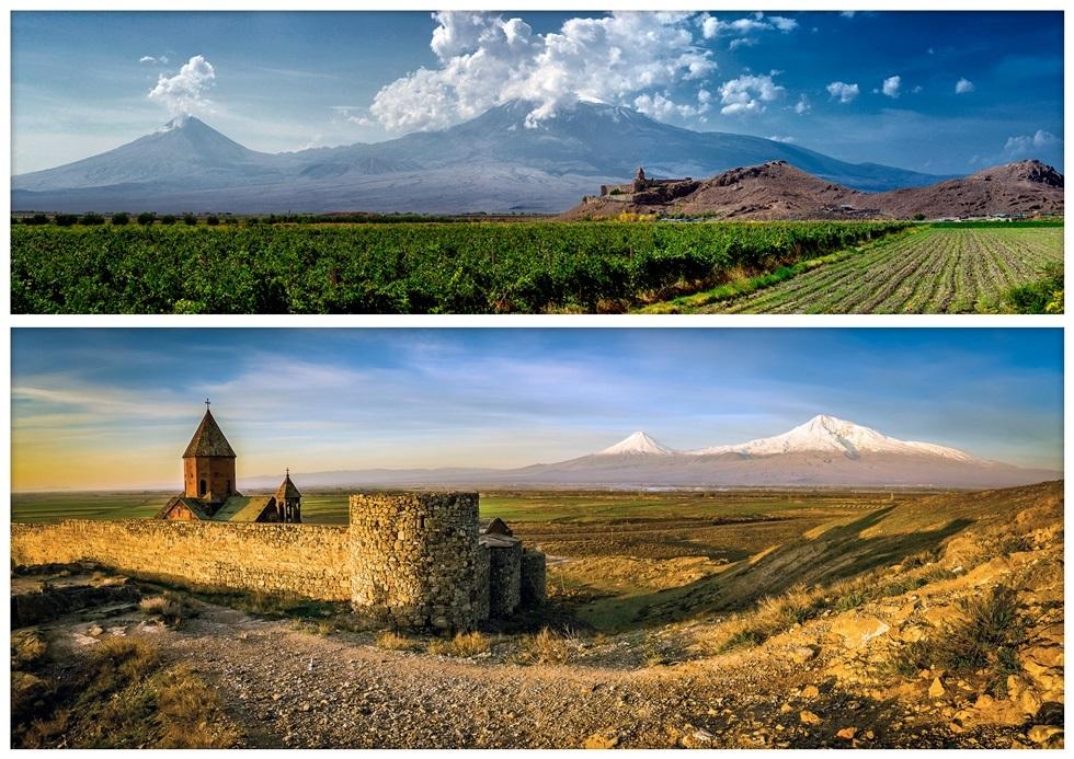Живописные места Турции - гора Арарат