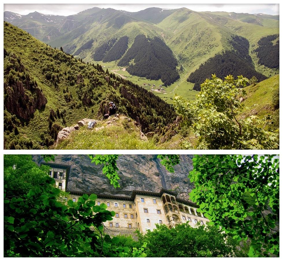 Северо-Анатолийские горы в Турции