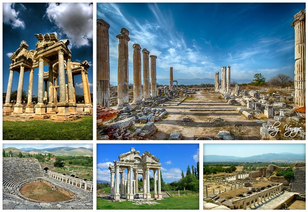 Руины Афродисии - достопримечательность Турции