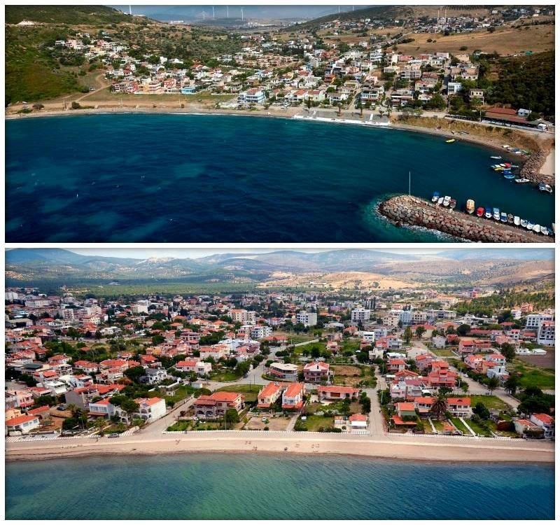 Пляжи в Измире с Голубым флагом - Алиага