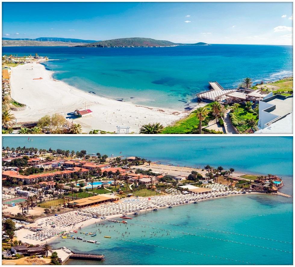 Чешме, Измир - пляжи с Голубым флагом