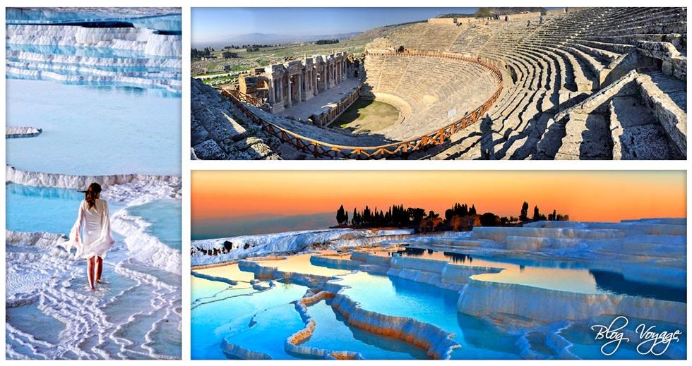 Объекты ЮНЕСКО в Турции - Травертиновые террасы Памуккале