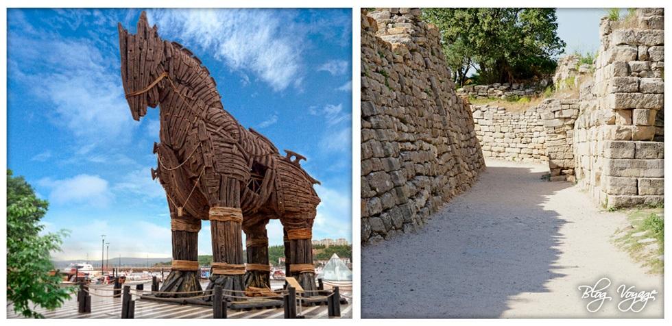 Развалины Трои - достопримечательность Турции
