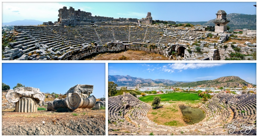 Достопримечательности Турции - Ксантос (Ксанф) и Летоон