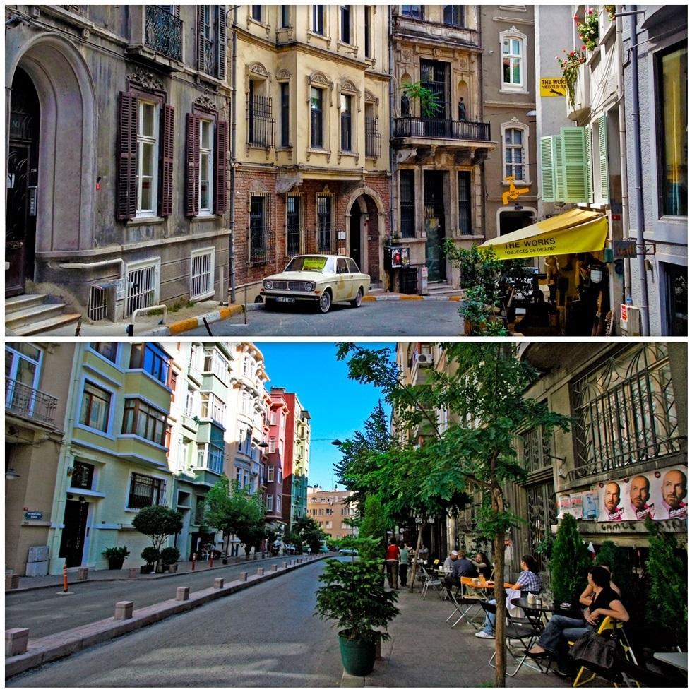 Нетуристические места Стамбула - Джихангир