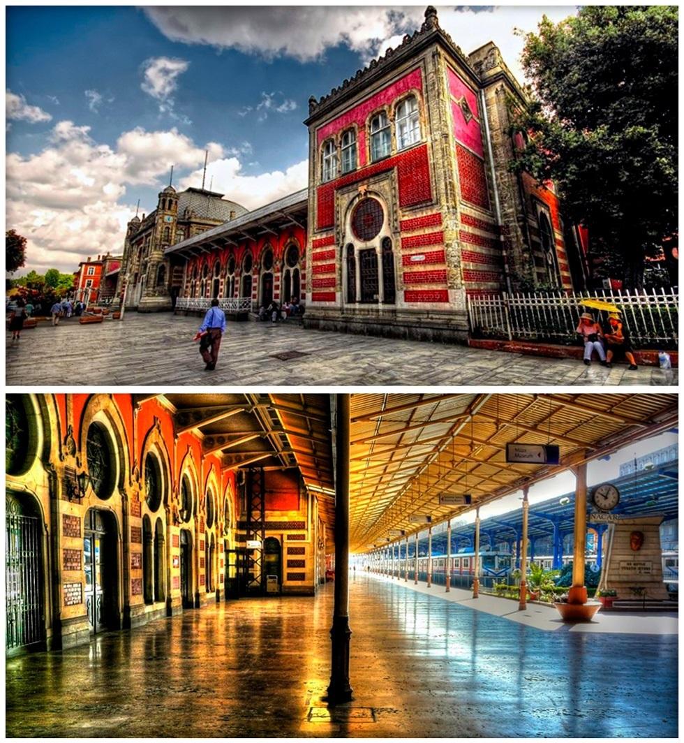 Вокзал Сиркеджи - нетуристическое место в Стамбуле