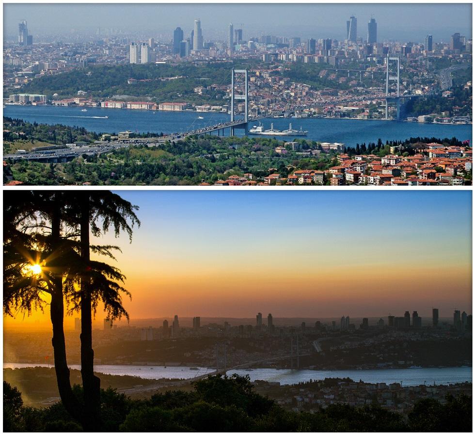 Холм Чамлыджа - смотровая площадка Стамбула