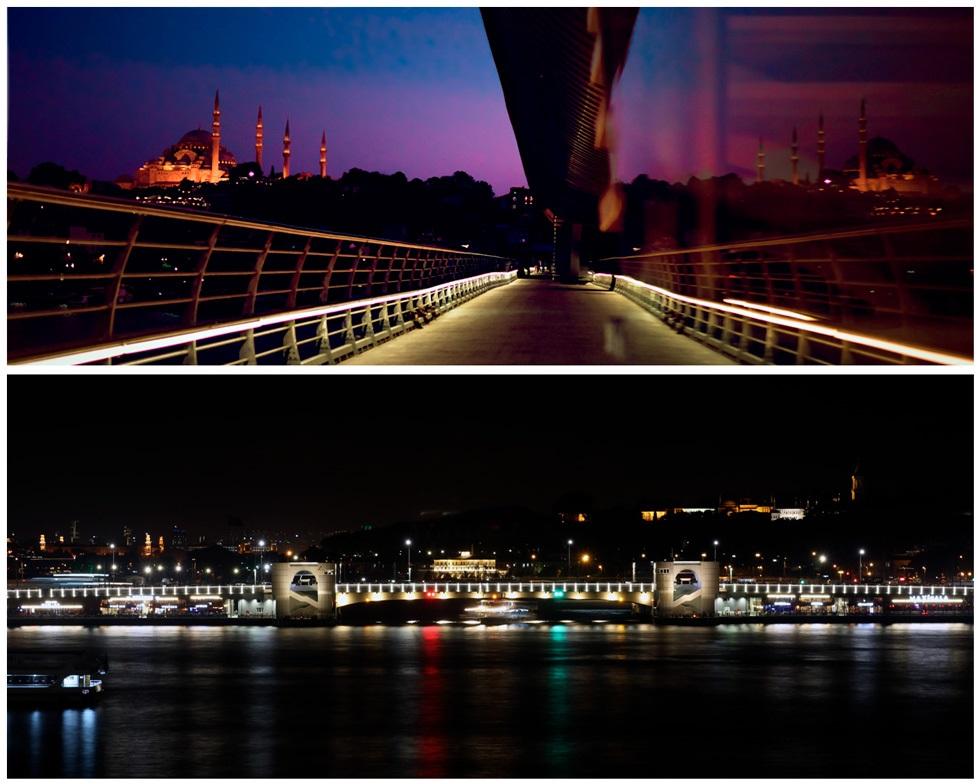 Мост Халич - место с красивым видом на Стамбул
