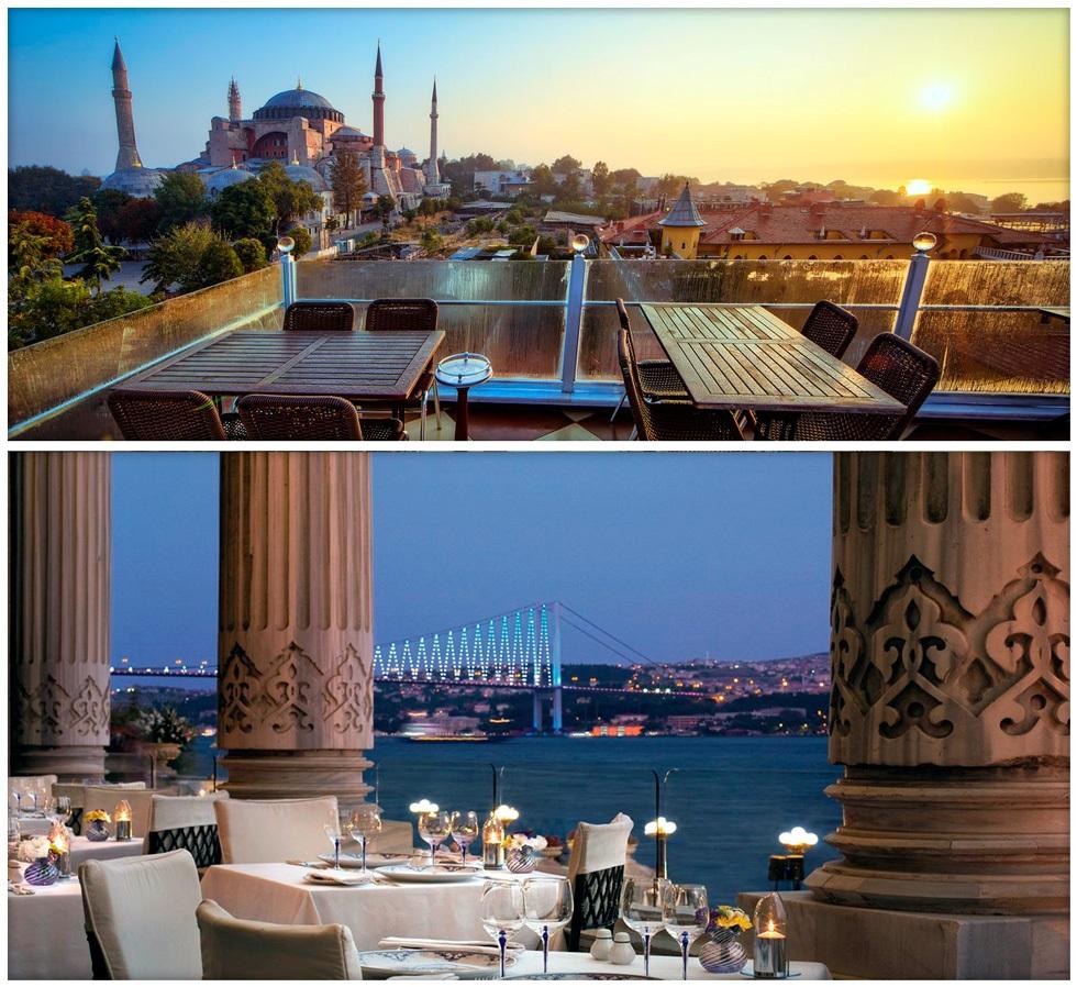 Лучшие смотровые площадки Стамбула - рестораны с видом на Босфор