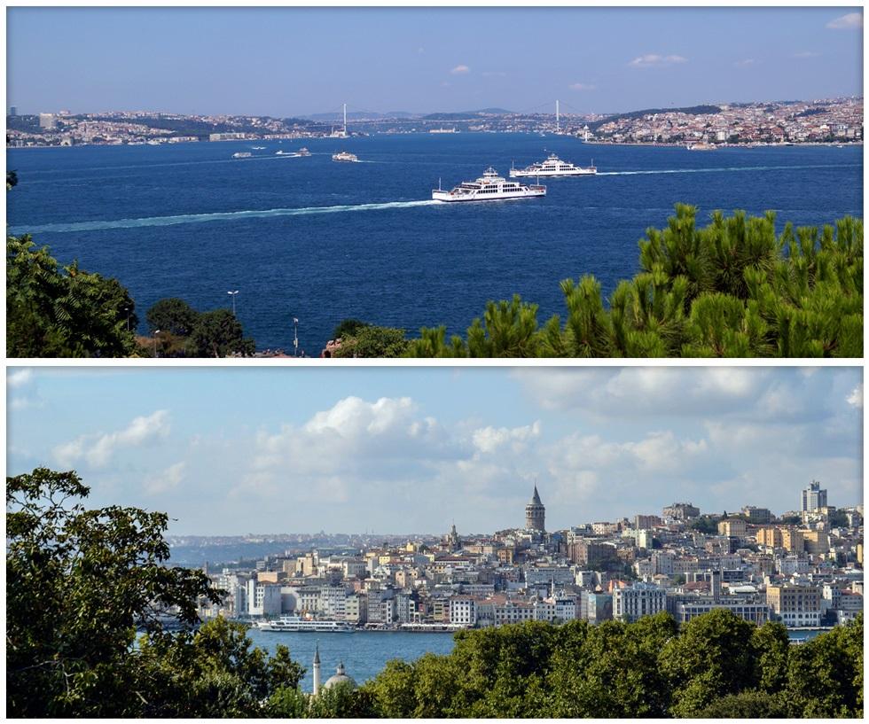 Лучшие смотровые площадки Стамбула - Дворец Топкапы