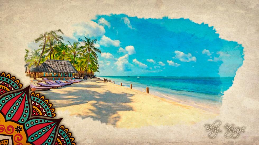 Песчаные пляжи Малинди в Кении