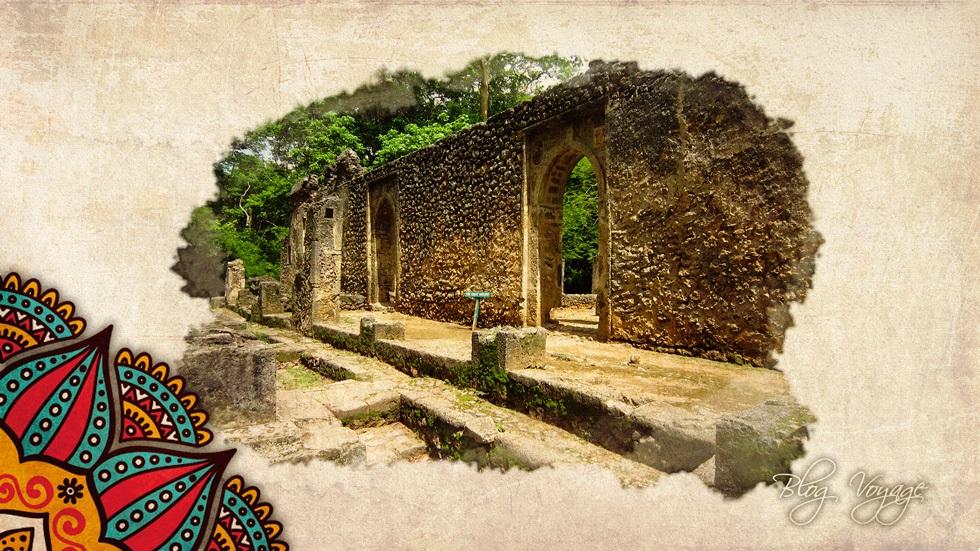 Руины Геди в Кении