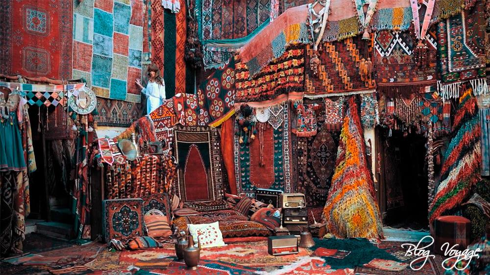 Instagram фотосессия в магазине ковров Carpet Galerie İkman Каппадокия