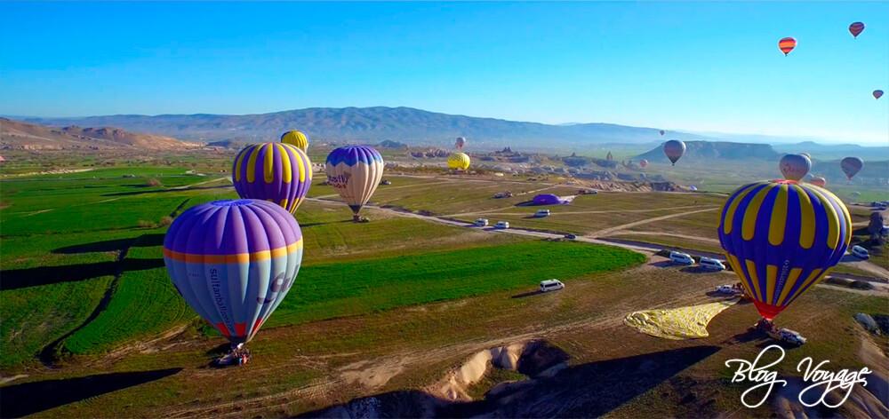 Полетать на воздушном шаре в Каппадокии