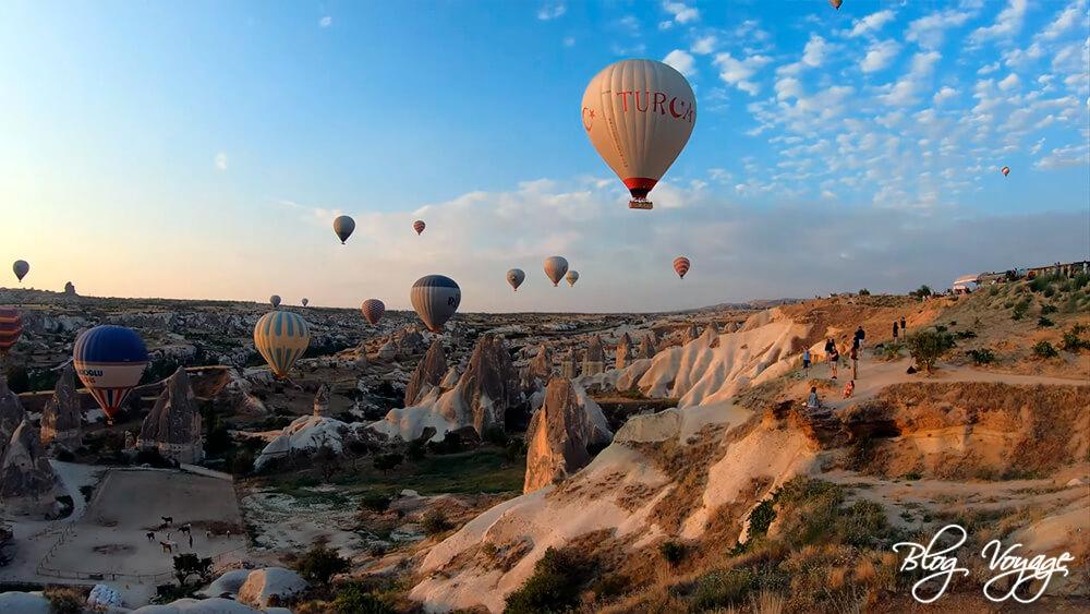 Чем заняться в Каппадокии - наблюдать за воздушными шарами