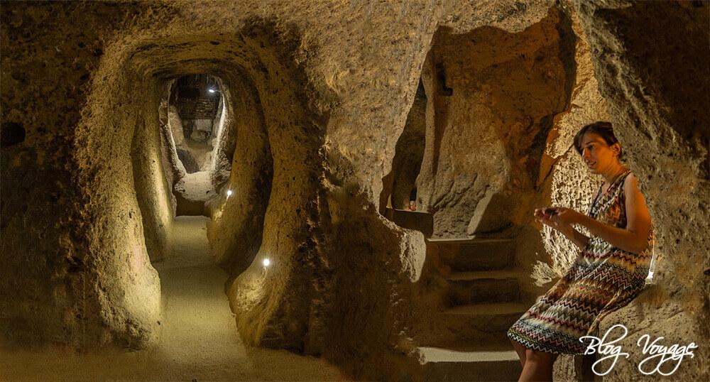 Чем заняться в Каппадокии - посетить подземный город Каймаклы