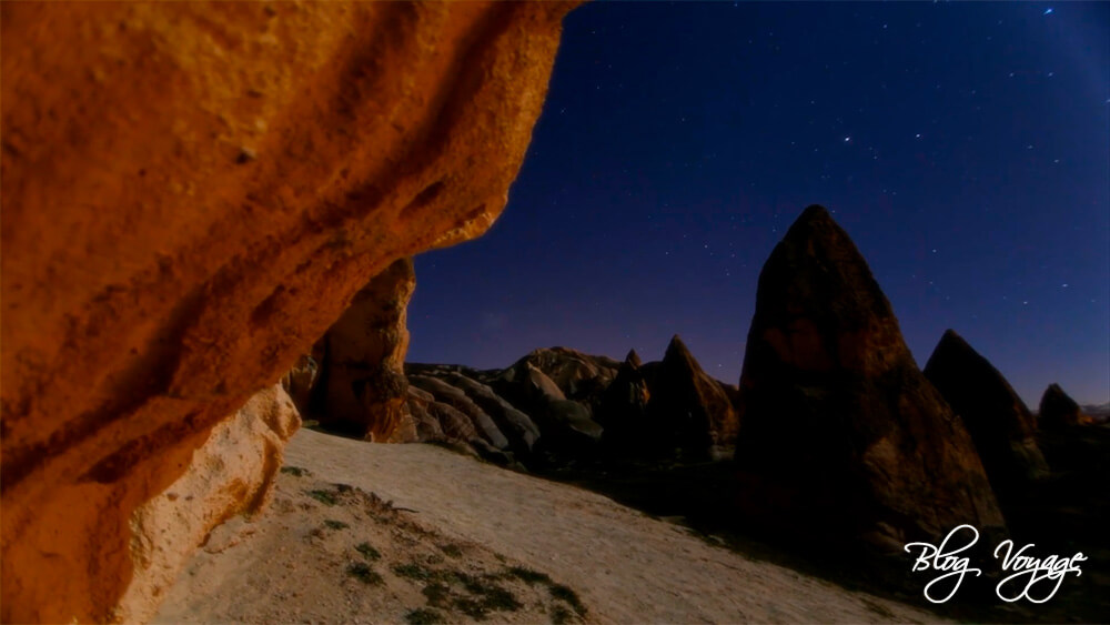 Каппадокия, Лунный тур ночью