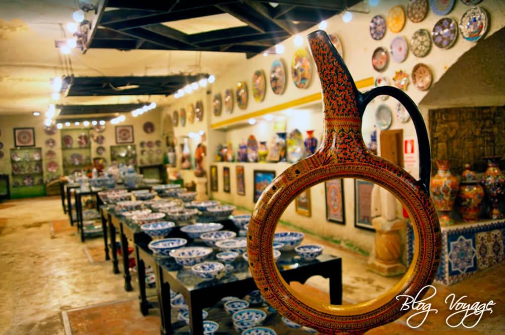 Купить керамику в Каппадокии, гончарная мастерская Chez Galip