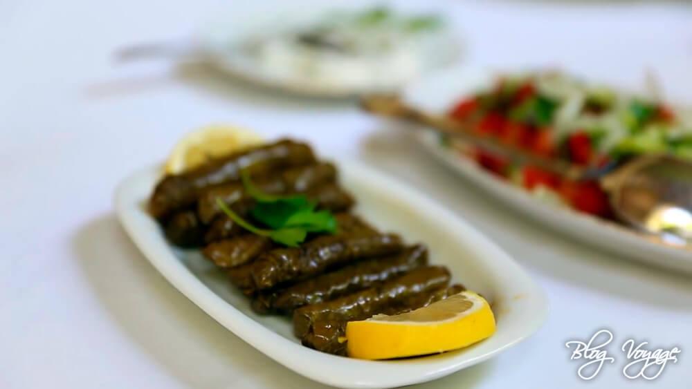 Япрак сармасы (сарма) в ресторанах Каппадокии