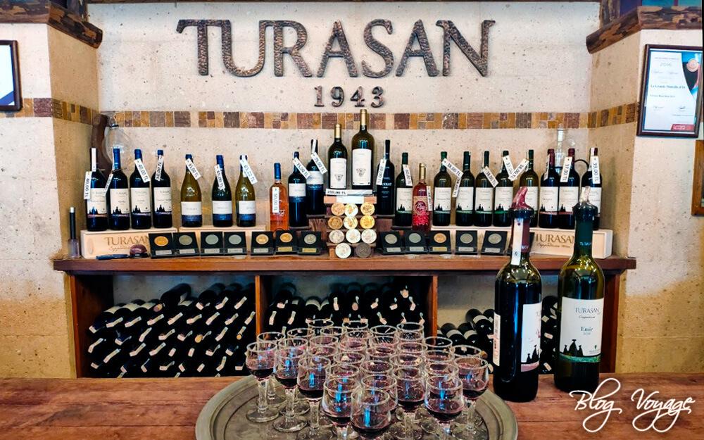 Вино марки Turasan