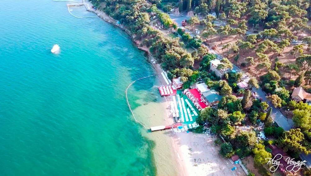 Пляж Айя Никола (Aya Nicola Beach), остров Бююкада, Стамбул
