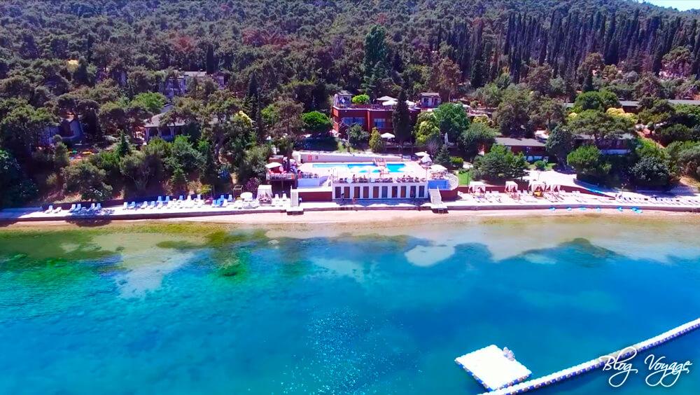 Пляж Картал на Бююкаде (Kartal Halk Plajı), Стамбул