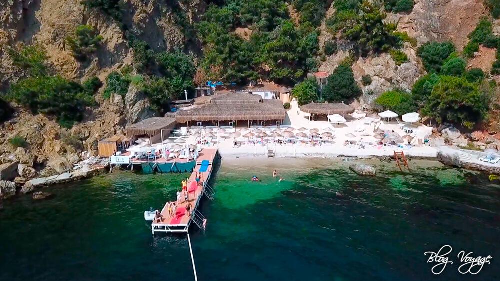 Пляжный клуб Yada Beach Club, остров Бююкада
