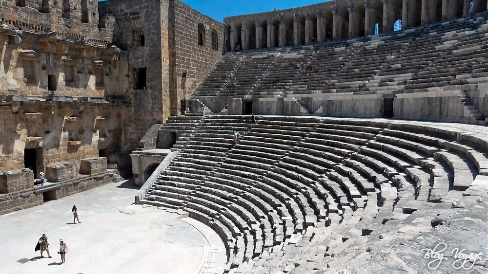 Амфитеатр в Аспендосе, Анталья