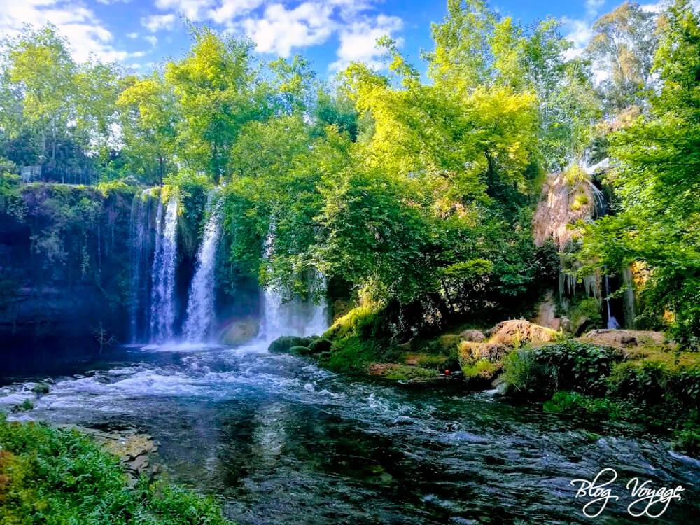 Водопад Дюден верхний, Анталия