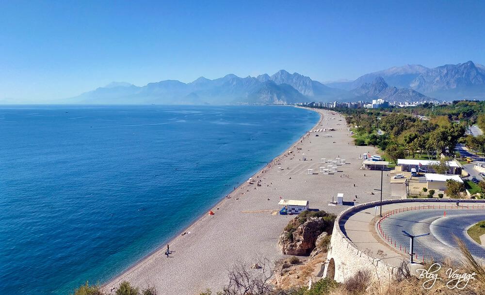 Анталья, пляж Коньяалты - куда сходить в Анталии