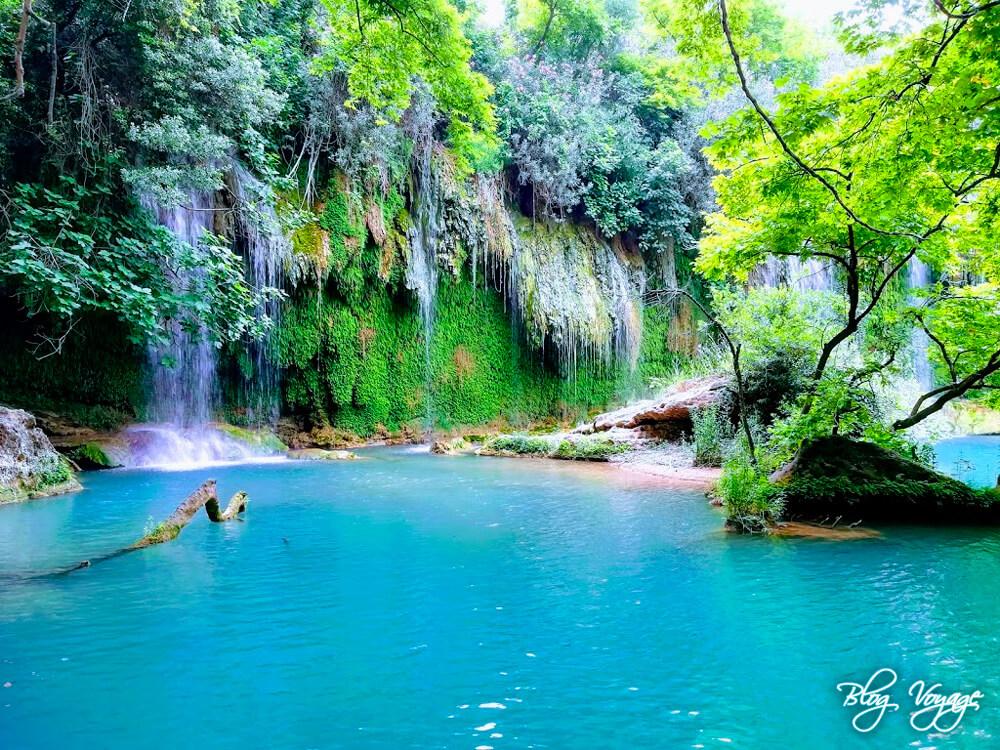 Водопад Куршунлу, Анталия