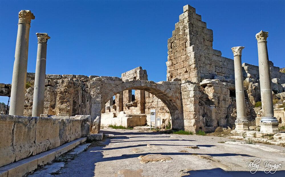 Что посмотреть в Анталии - древний город Перге