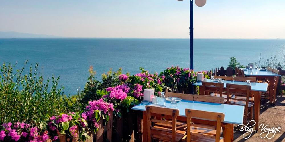 Террасный ресторан Eskibağ Teras Restaurant, Бююкада, Принцевы острова, Стамбул