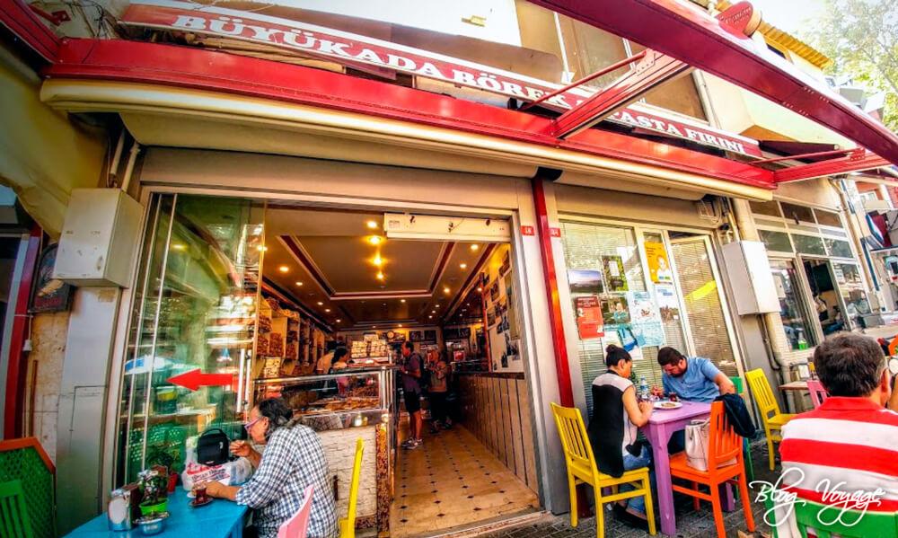 Кондитерская Büyükada Pastanesi, Принцевы острова, Стамбул