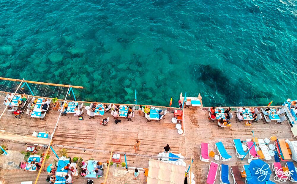 Пляж Асмаалты (Asmaaltı), Каш