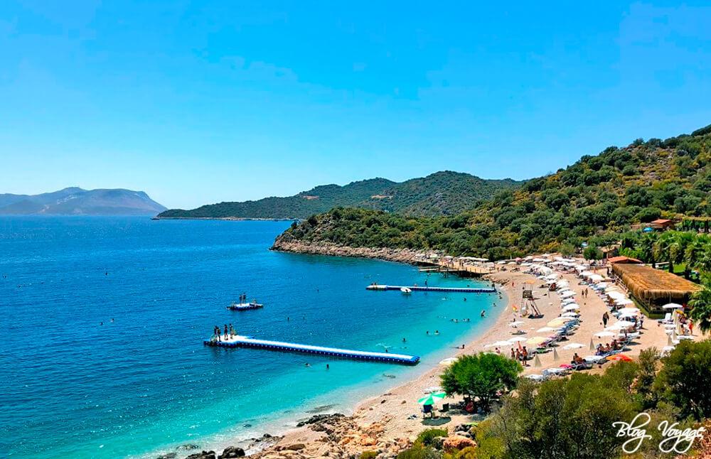 Общественный муниципальный пляж Каша, Анталья, Турция