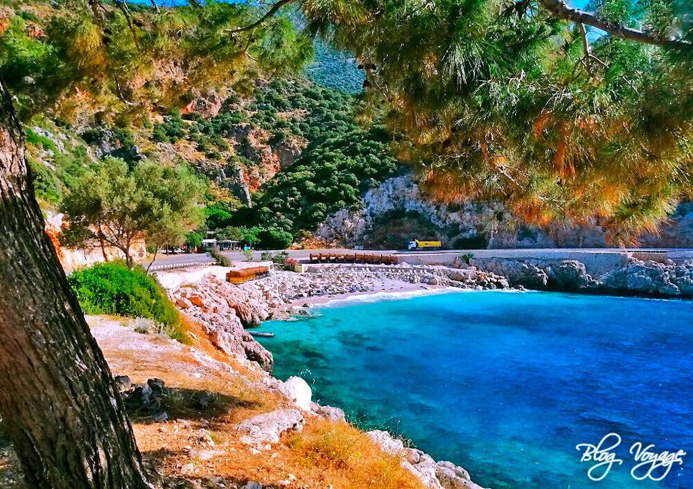 Пляжи Каша - пляж Сейрек Чакыл, Анталия