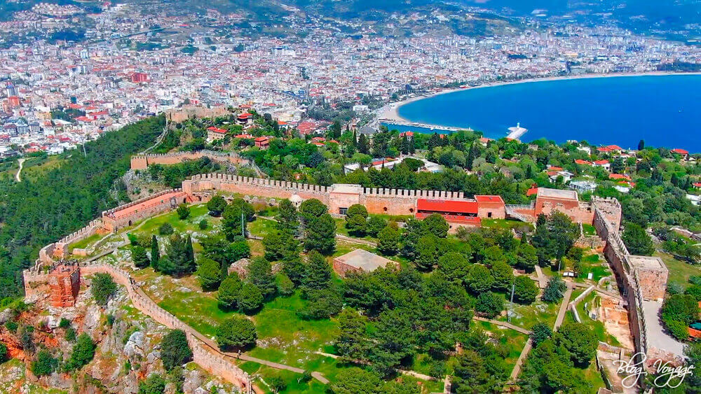 Курорт Алания в провинции Анталия, Турция