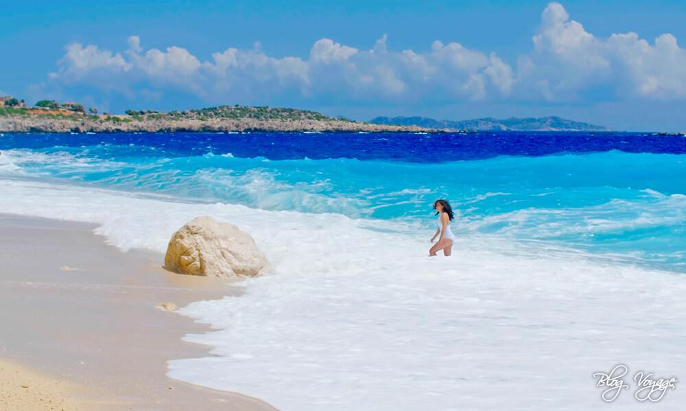 Пляж Капуташ, курорт Каш, Анталия